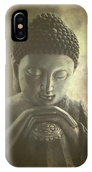 Siddharta iPhone Case - Buddha by Madeleine Forsberg