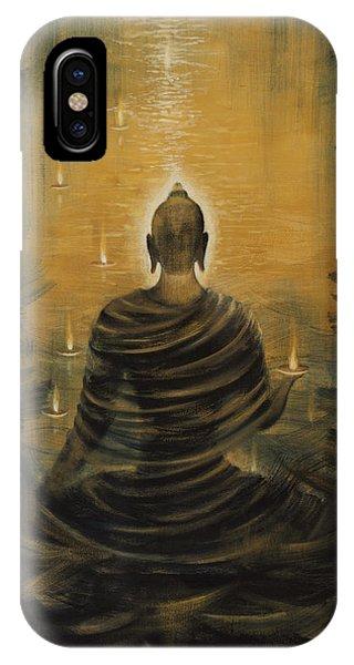Buddha. Nirvana Ocean IPhone Case