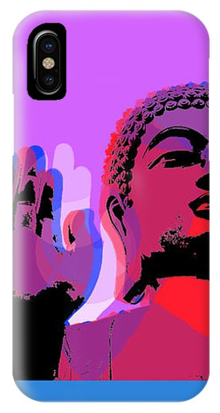 Buddha Pop Art - 4 Panels IPhone Case