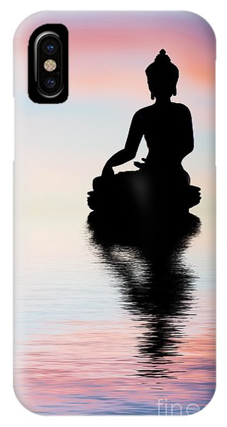 Divine Love iPhone Case - Buddha Reflection by Tim Gainey