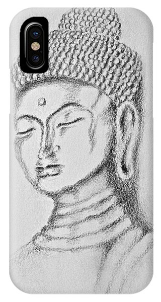 Buddha Study IPhone Case