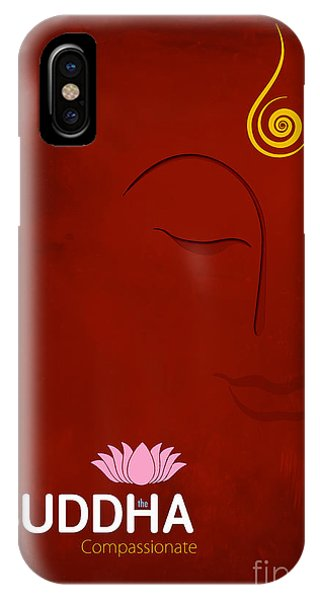 Worship iPhone Case - Buddha The Compassionate by Tim Gainey