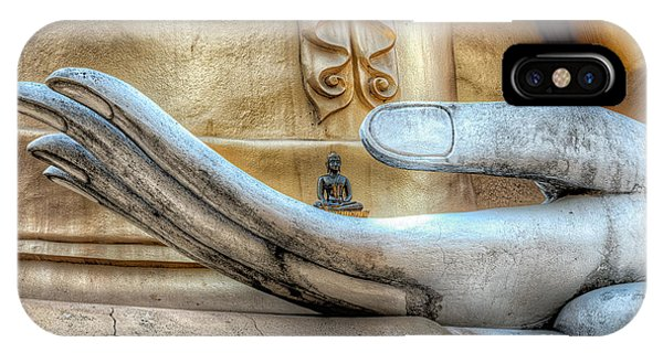 Buddhism iPhone Case - Buddha's Hand by Adrian Evans