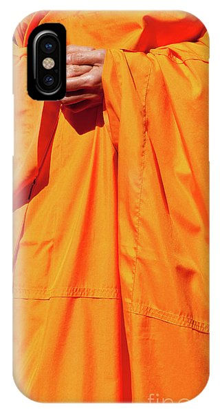 Buddhist Monk 02 IPhone Case