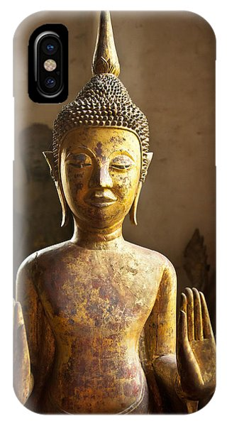 Buddhist Statues G - Photograph By Jo Ann Tomaselli  IPhone Case
