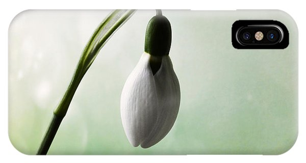 Budding Snowdrop  IPhone Case