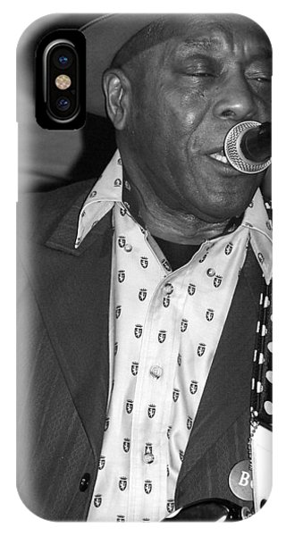 Buddy Guy Sings The Blues IPhone Case