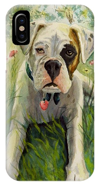 Buddy The Boxer IPhone Case