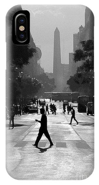 Buenos Aires Obelisk II IPhone Case