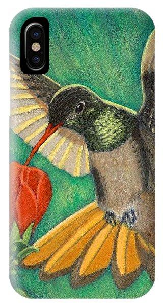 Buff-bellied Hummingbird IPhone Case