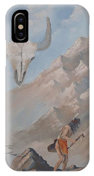 Buffalo Dancer IPhone Case