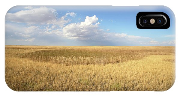 North Dakota Badlands iPhone Case - Buffalo Gap National Grassland by Peter Falkner/science Photo Library