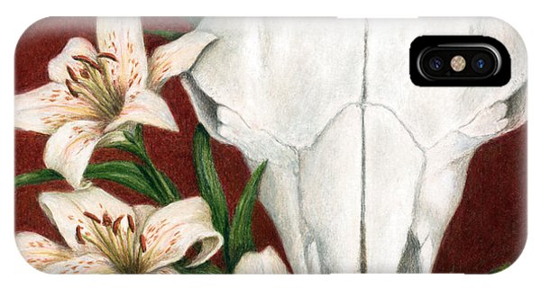 Buffalo Lilies IPhone Case