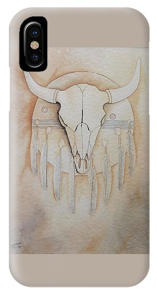 Buffalo Shield IPhone Case