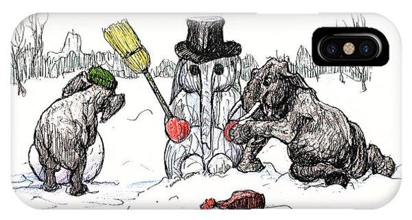 Building A Snow Elephant IPhone Case