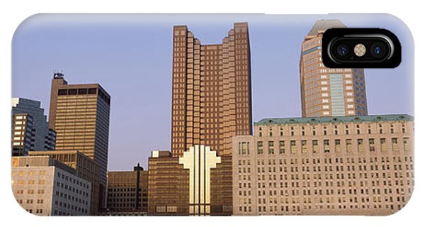 Buildings In A City, Columbus, Franklin IPhone Case