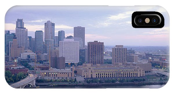 Buildings In A City, Minneapolis IPhone Case