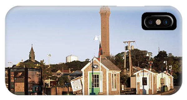 Cape Cod iPhone Case - Buildings In A City, Provincetown, Cape by Panoramic Images