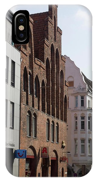 Small Business iPhone Case - Buildings In Old Town, Mengstrasse by Panoramic Images