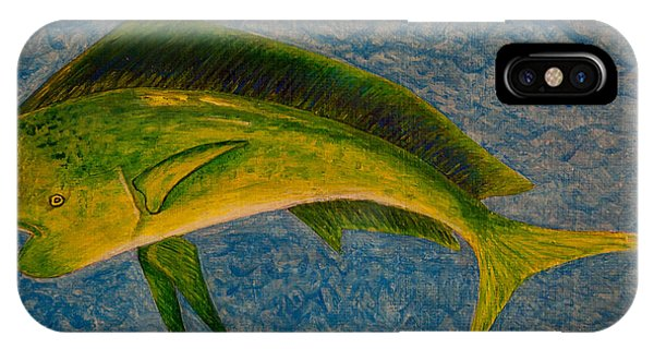 Bull Dolphin Mahimahi Fish IPhone Case