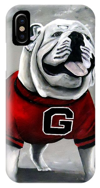 Uga Bullog Damn Good Dawg IPhone Case