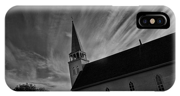 Bullet Riddled Church IPhone Case