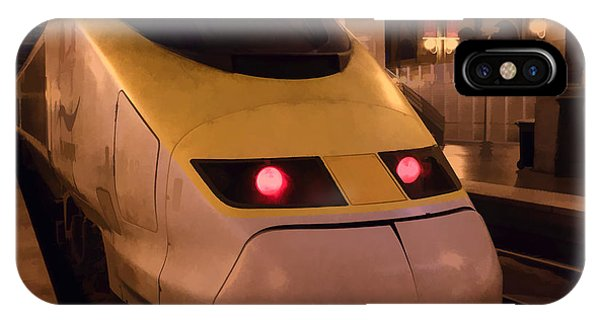 Bullet Train Art IPhone Case