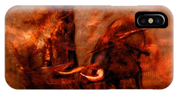 Bullfight IPhone Case