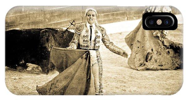 Bullfighting Blond IPhone Case