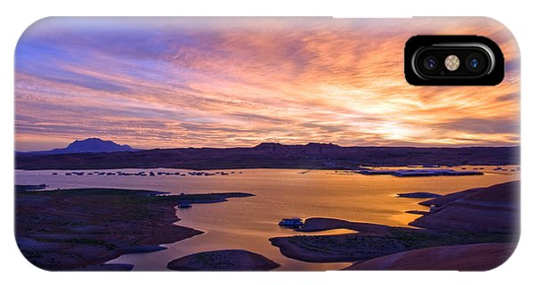 Bullfrog Marina Sunrise  IPhone Case