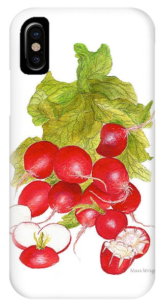 Bunch Of Radishes IPhone Case