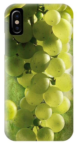 Bunch Of Yellow Grapes IPhone Case