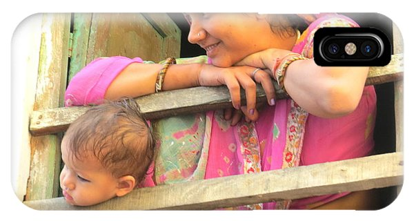 Bundi Mother And Child IPhone Case
