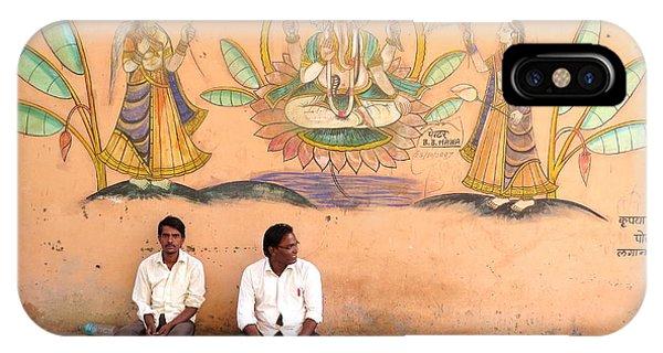 Bundi Mural Boys IPhone Case