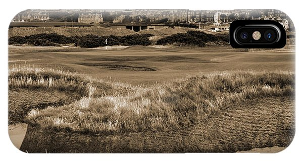 Bunker At St. Andrews Old Course Scotland IPhone Case