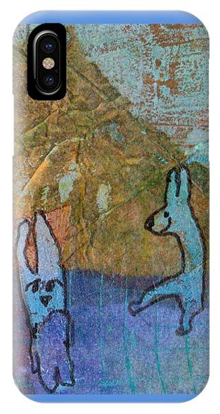 Bunny Ballet IPhone Case