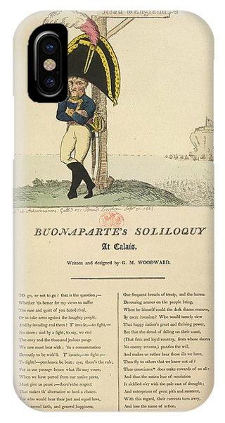 Buonaparte's Soliloquy IPhone Case