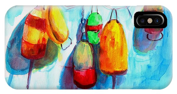 Colorful Buoys IPhone Case