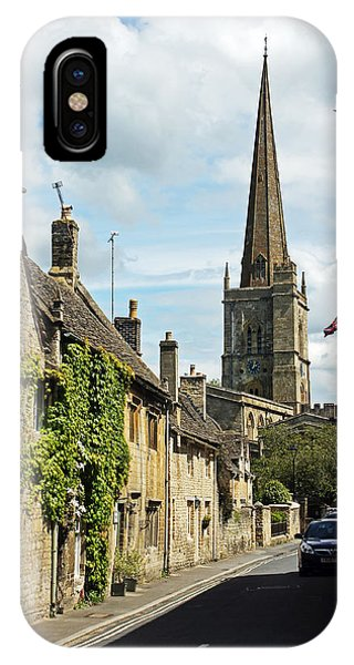 Burford Village Street IPhone Case