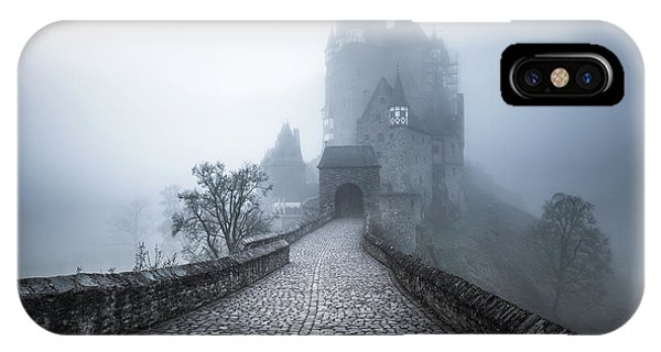 Fort iPhone Case - Burg Eltz by Philip Slotte