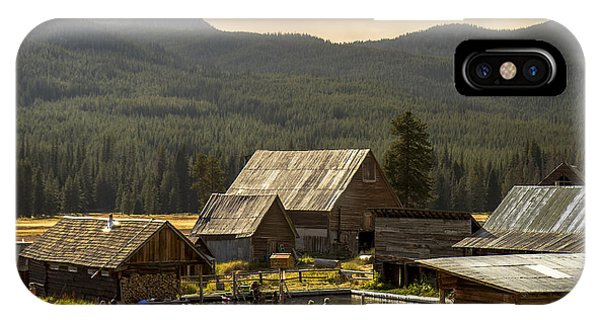 Burgdorf Hot Springs In Idaho IPhone Case