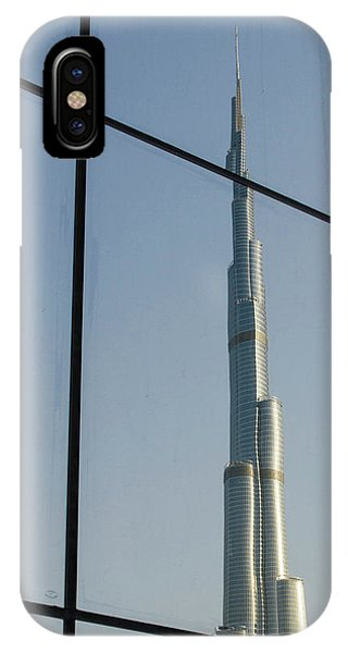 Condo iPhone Case - Burj Khalifa The Tallest Building by Michael Defreitas