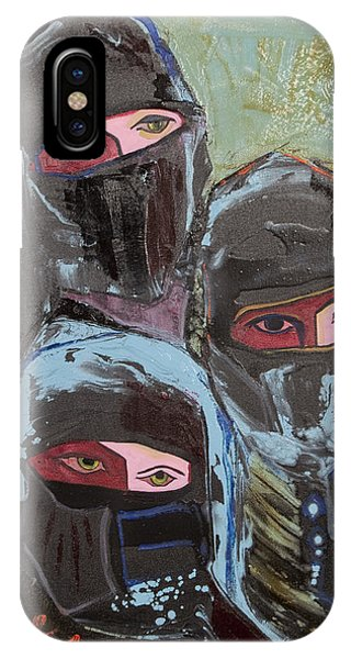 Burka 3 IPhone Case