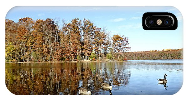 Burke Lake Park In Fairfax Virginia IPhone Case