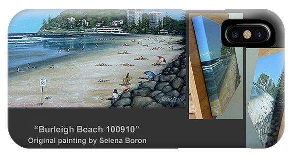 Burleigh Beach 100910 Comp IPhone Case