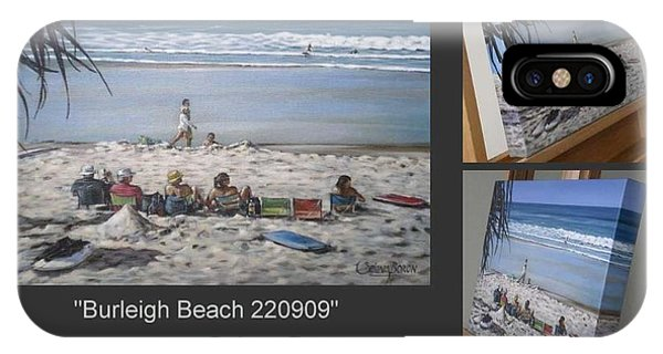 Burleigh Beach 220909 IPhone Case