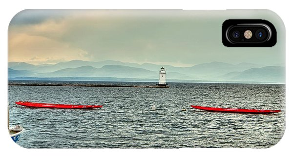 IPhone Case featuring the photograph Burlington Light by Jim Proctor