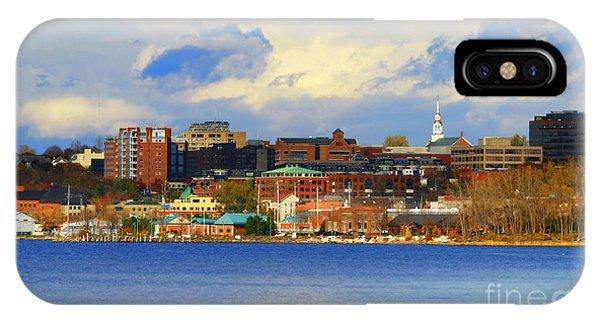 Burlington Vermont Lakefront IPhone Case