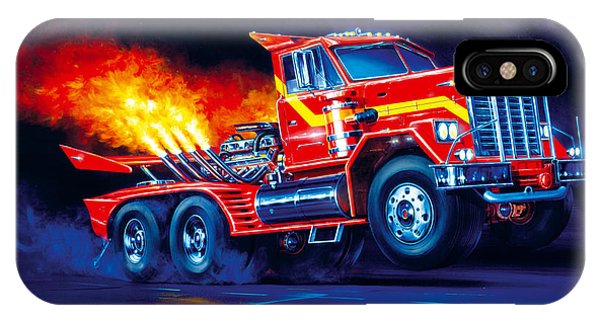 Trucking iPhone Case - Burn Out by MGL Meiklejohn Graphics Licensing