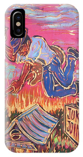 Burnin' It Up Phone Case by Robert Ponzio